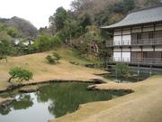 071225庭園と得月楼@エコカフェ(鎌倉).jpg