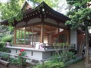 090419鳩森神社能舞台@エコカフェ.JPG