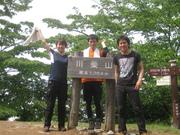 100619川苔山山頂@エコカフェ.JPG