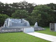 100812ヤエヤマ戦争マラリア犠牲者慰霊の碑@エコカフェ.JPG