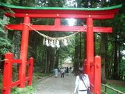 100820白山神社鳥居@エコカフェ(中尊寺).JPG