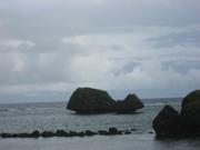 101011巨大キノコ岩@エコカフェ(大神島).JPG