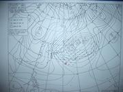 101231天気図@エコカフェ.JPG