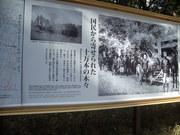 120325明治神宮の森回顧看板@エコカフェ.JPG
