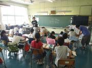 120523小笠原小学校5年生総合学習2@エコカフェ(小笠原海洋センター).JPG
