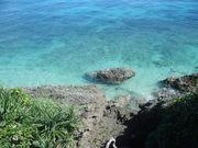 120722ヤグルガー眼下の海@エコカフェ(久高島).JPG