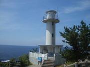 120804尖閣湾の灯台@エコカフェ.JPG