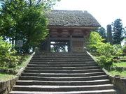 120805妙宣寺二王門@エコカフェ(佐渡島).JPG