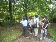 120929カツラの木の前で@エコカフェ.JPG