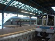 121117江ノ島駅ホーム@エコカフェ.JPG