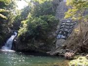 130411岸壁工事とマテリヤの滝@エコカフェ(奄美大島エコツアー)S.jpg