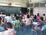 130607事前学習@エコカフェ(小笠原小学校5年生).JPG