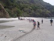 130612海岸調査に行きます@エコカフェ(小笠原小学校5年生).JPG