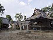 130714鹿島神社神楽殿と八坂神社@エコカフェ(埼玉ミニ農園).jpg