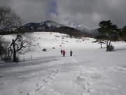 140119八ヶ岳は雪雲に@エコカフェ(真保)_n.jpg