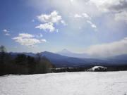 140119遠方に富士山@エコカフェ(真保)n.jpg