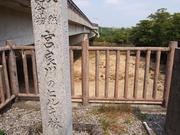 140315宮良川のヒルギ林石碑@エコカフェ.JPG