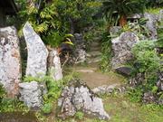 140315枯山水庭園@エコカフェ.JPG