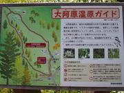 140913大阿原湿原ガイド看板@エコカフェ.JPG
