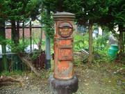 141101丸型郵便ポスト@エコカフェ.JPG