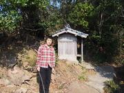 141107金毘羅神社境内@エコカフェ.JPG
