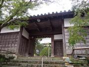 141108西山寺山門@エコカフェ.JPG