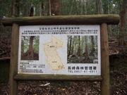 141108豆酘龍良山林木遺伝資源保存林看板@エコカフェ.JPG