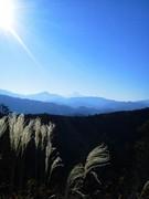 一丁平から富士山を@エコカフェ.JPG