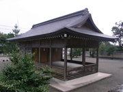 佐太神社神楽殿@エコカフェ.JPG