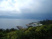 初島から熱海対岸を@エコカフェ.JPG