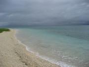 白い砂浜@エコカフェ.JPG