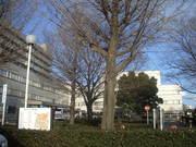 群馬大学医学部病棟前庭@エコカフェ.JPG