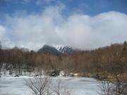 雲の中の八ヶ岳@エコカフェ.JPG