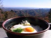高尾山そば一杯目1@エコカフェ.JPG