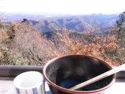 高尾山そば一杯目2@エコカフェ.JPG