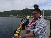 魚釣り@エコカフェ.JPG